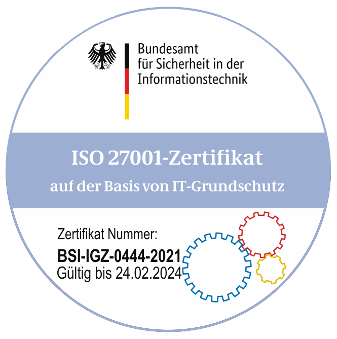 Logo des Bundesamt für Sicherheit in der Informationstechnik