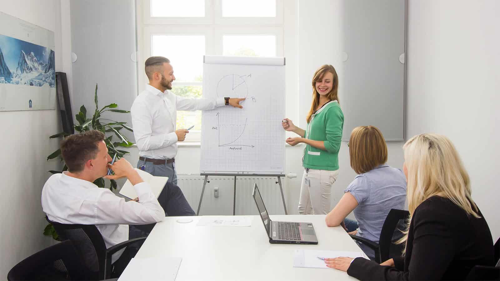 Mit der richtigen Organisations- und Prozessberatung verkürzen sich die Laufzeiten von Projekten