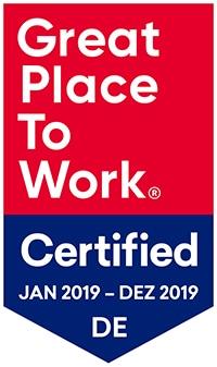 Siegel für zertifizierte Qualität am Arbeitsplatz