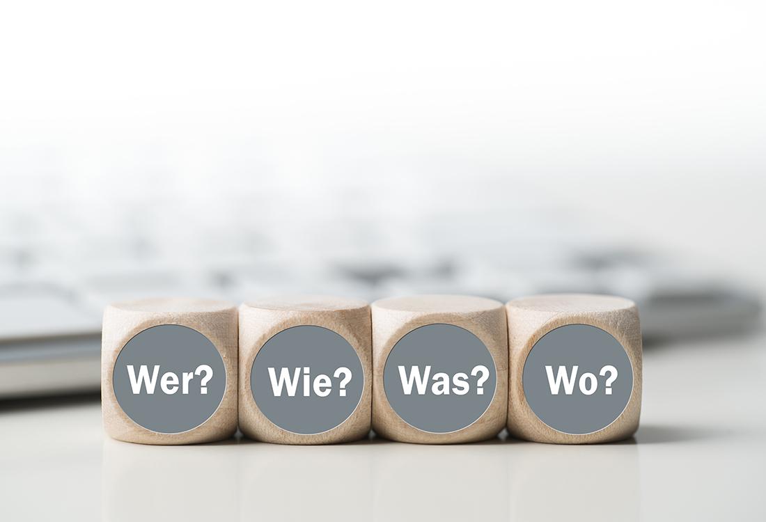 Hier finden Sie Antworten auf alle Fragen zu Service oder Ansprechpartnern.