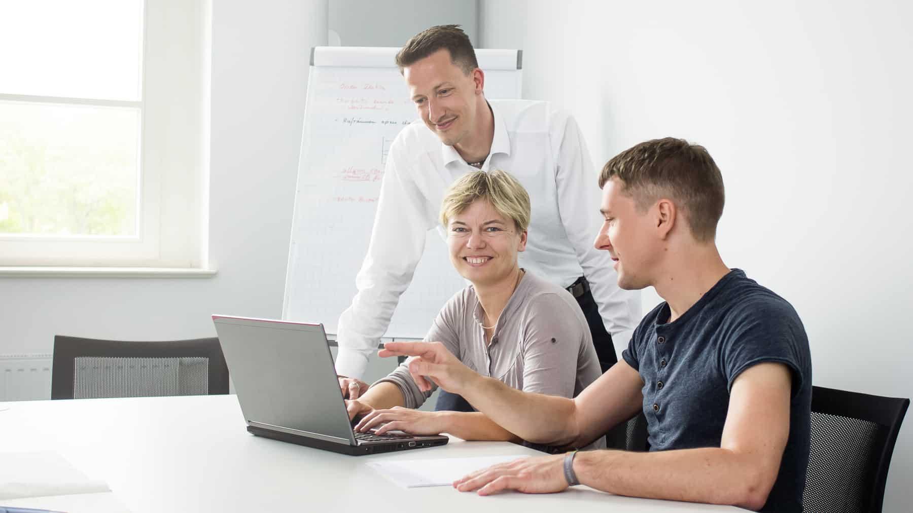 Mit unseren IT-Beratungsleistungen machen wir Sie fit für die Zukunft