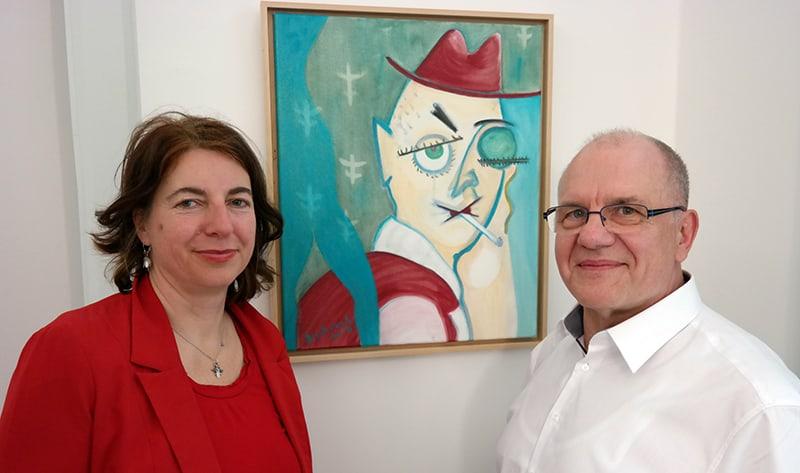 Ausstellung Bunterwegs mit Bernd Lehrack
