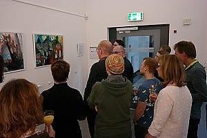 Gäste der Ausstellung Bunterwegs