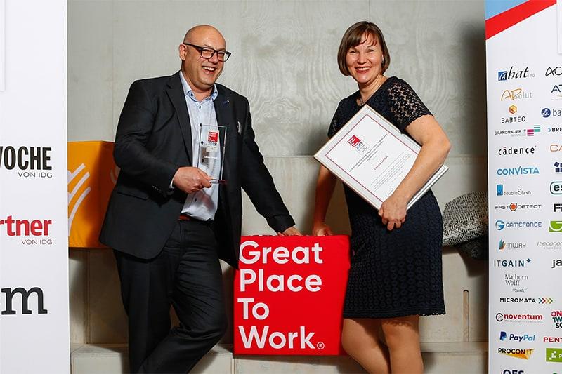 Lecos wurde als bester ITK Arbeitgeber ausgezeichnet