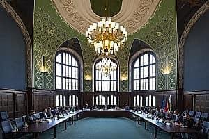 Spitzengespräch zur Digitalen Verwaltung beim Miniterpräsident Sachsens