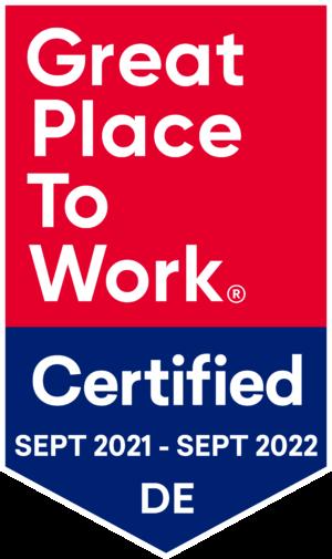 "Zertifikat ""Great Place to Work"" - Attraktiver Arbeitgeber"